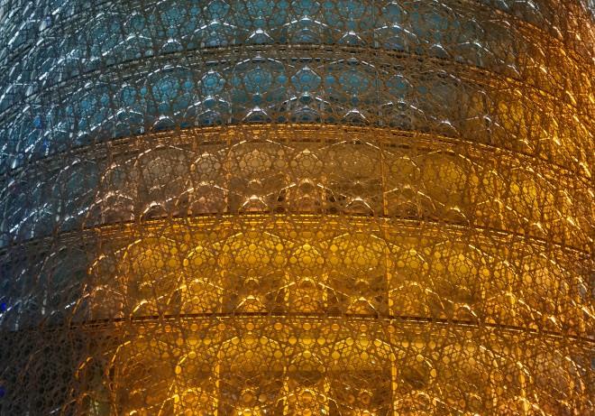 gold-metal-mesh